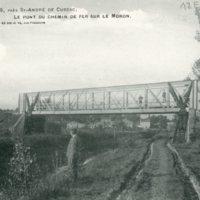 Pont du chemin de fer à Marcamps